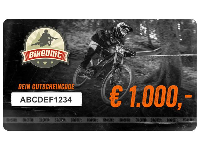 Bikeunit Geschenkgutschein 1000 €